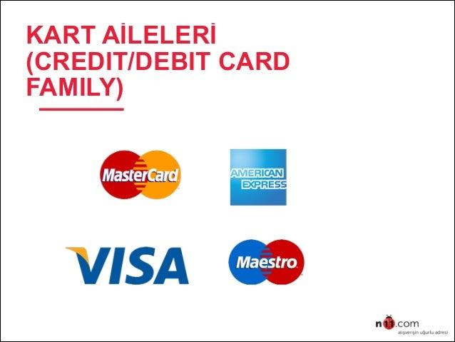 KART AİLELERİ (CREDIT/DEBIT CARD FAMILY)