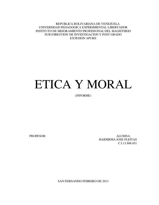 REPUBLICA BOLIVARIANA DE VENEZUELA     UNIVERSIDAD PEDAGOGICA EXPERIMIENTAL LIBERTADOR   INSTITUTO DE MEJORAMIENTO PROFESI...