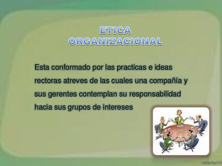 ETICA Y RESPONSABLIDAD SOCIAL