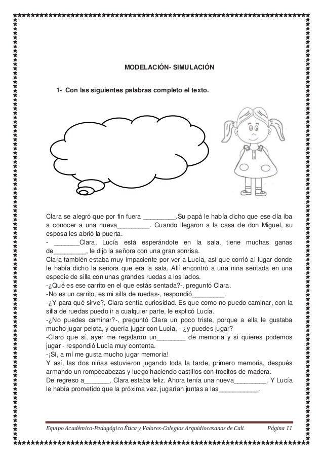 Hola - Lucía – Sábado - juego - conocerte amiguita -casa – amiga - muñecas MODELACIÓN- SIMULACIÓN 1- Con las siguientes pa...