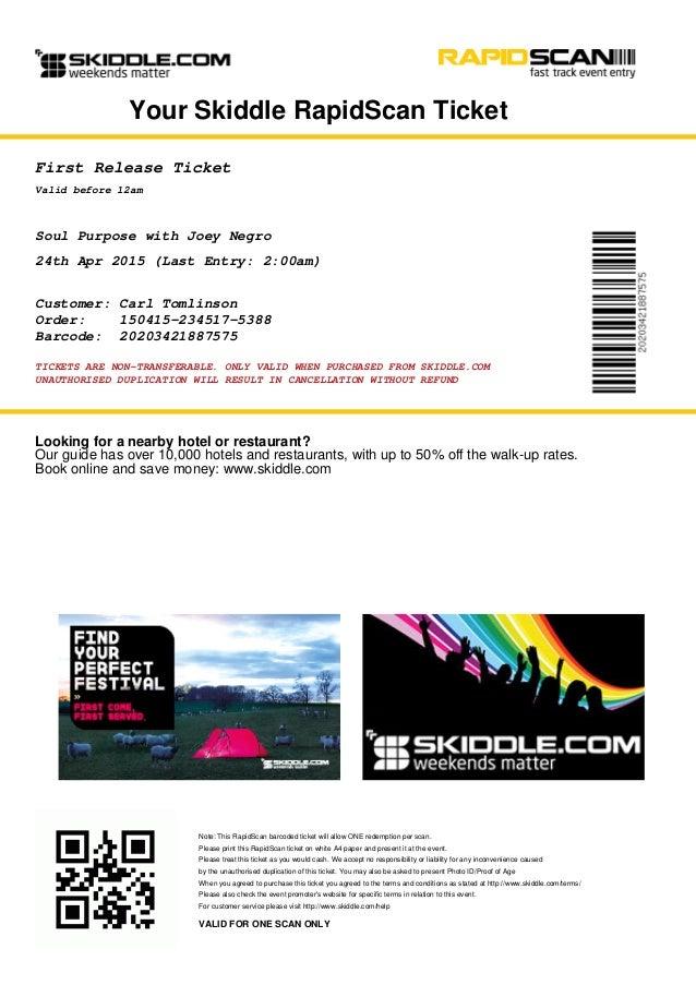 festival e ticket