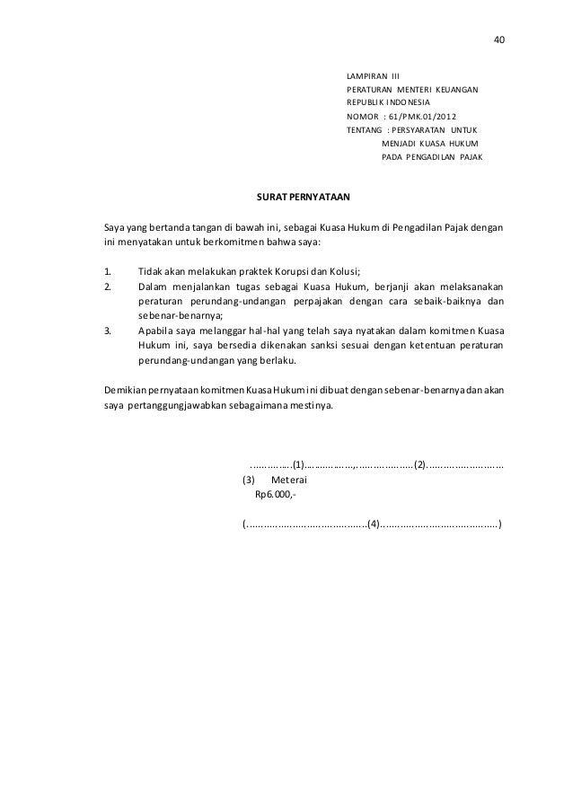 Etika Pegawai Direktorat Jendral Pajak