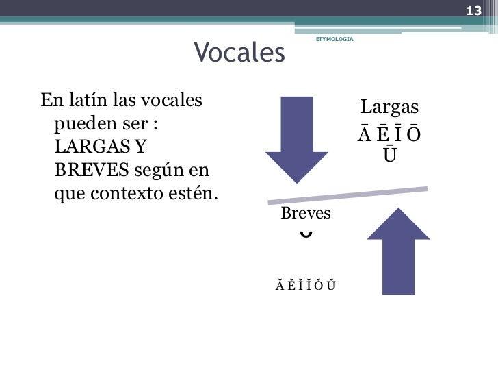 Vocales Largas En Latin 57