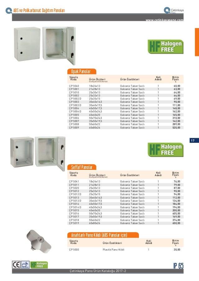 Sipariş Kodu Ürün ÖzellikleriÜrün Ölçüleri Koli Adedi ¨ Birim Fiyatı EnxBoyxDerinlik(WxHxD) ÇP 5201 ÇP 5202 ÇP 5203 ÇP 520...