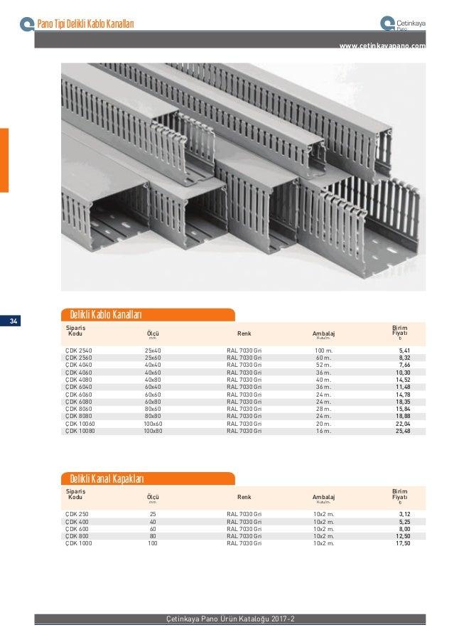 Kablo Bağı Aksesuarları www.cetinkayapano.com Sipariş Kodu Uzunluk En Renk Adet/ Koli Adet/ Ambalaj ¨ Birim Fiyatı ÇKB 19-...