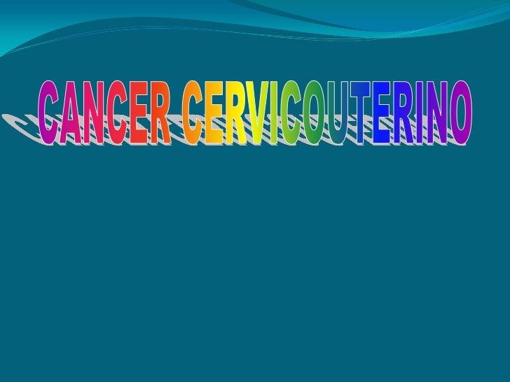 Es un tumor maligno que secaracteriza por la perdida del   control del crecimiento y  división de las células que     pued...