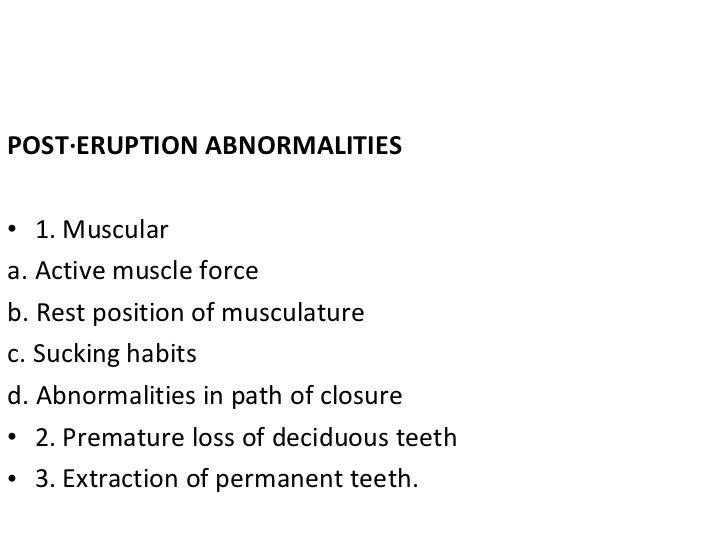 three stages of malocclusion Malocclusion have shown wide variation from 196%2 to 9605%3 karnataka is a vast state in india constituting  in the first stage of sampling, three categories of schools, namely, government schools, aided schools, and private schools in each district were selected from a list of.