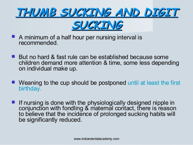  A minimum of a half hour per nursing interval is recommended.  But no hard & fast rule can be established because some ...