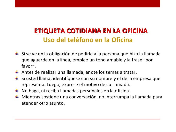 Etiqueta profesional for Telefono de la oficina