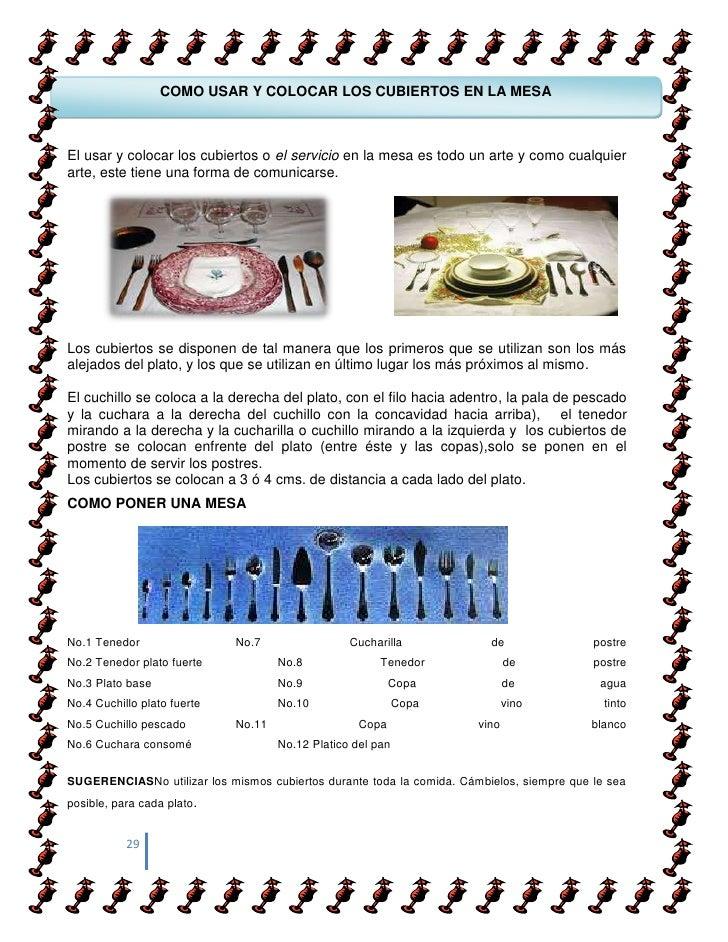 Etiqueta protocolo y glamur for Como colocar los cubiertos en la mesa