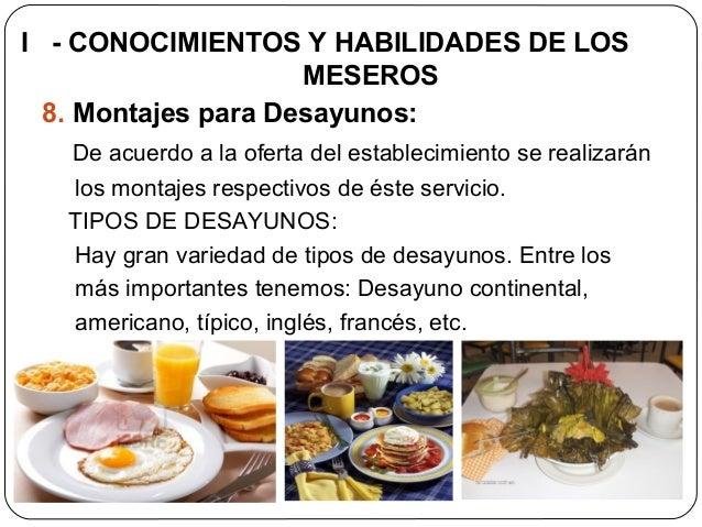 Etiqueta protocolo y servicio para meseros servihoteles for Menu frances tipico