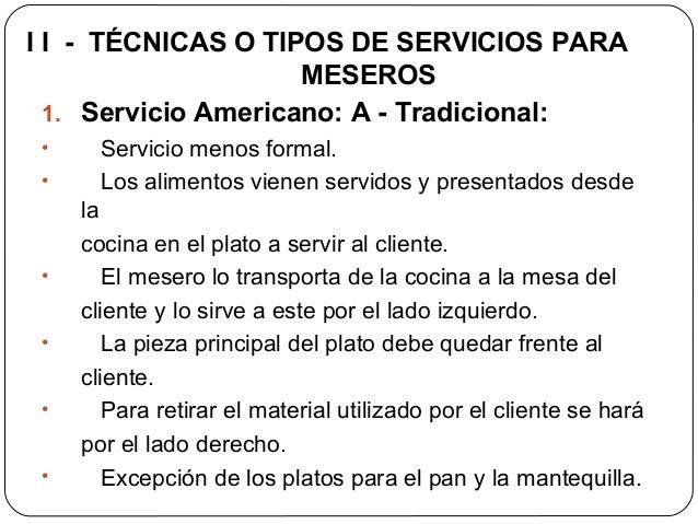 Etiqueta protocolo y servicio para meseros servihoteles for Cocina tradicional definicion