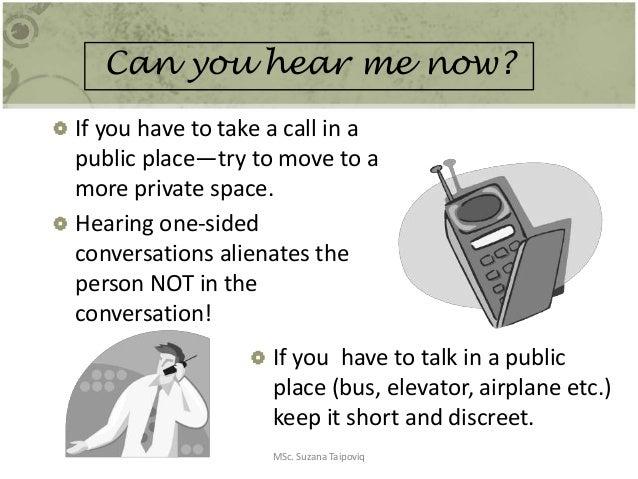 Basic Etiquettes for Effective Communication