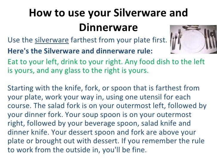 Etiquettes on fine dining : etiquettes on fine dining 6 728 from www.slideshare.net size 728 x 546 jpeg 141kB