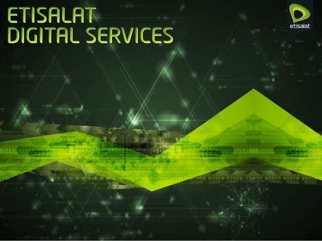 Etisalat Digital Services