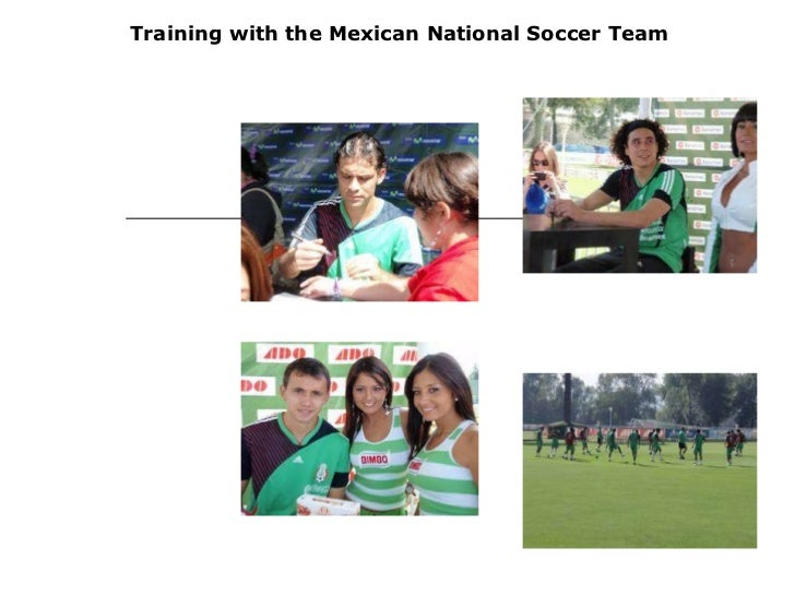 Training with the Mexican National Soccer Team