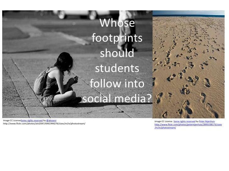 Whose                                                                       footprints                                    ...