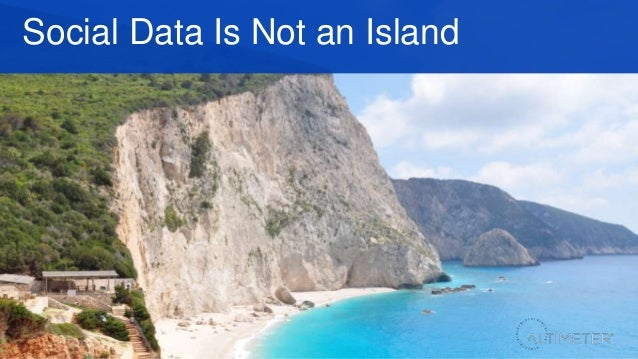 Social Data Is Not an Island