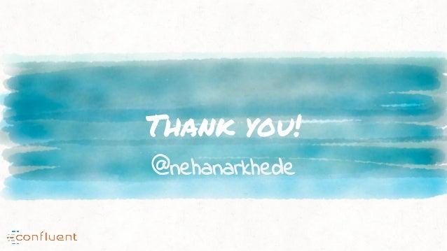 Thank you! @nehanarkhede