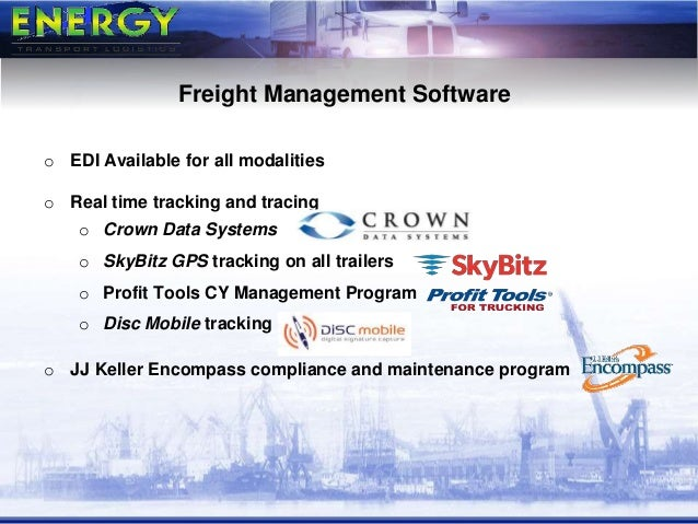 Energy Transport Logistics