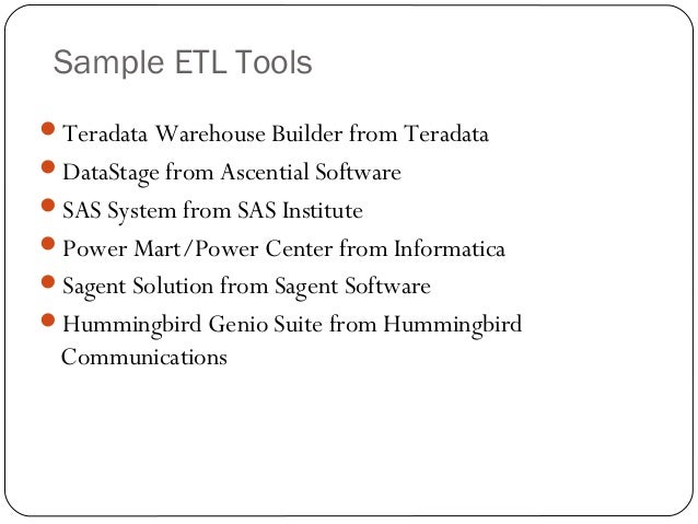 Etl Testing Training Presentation
