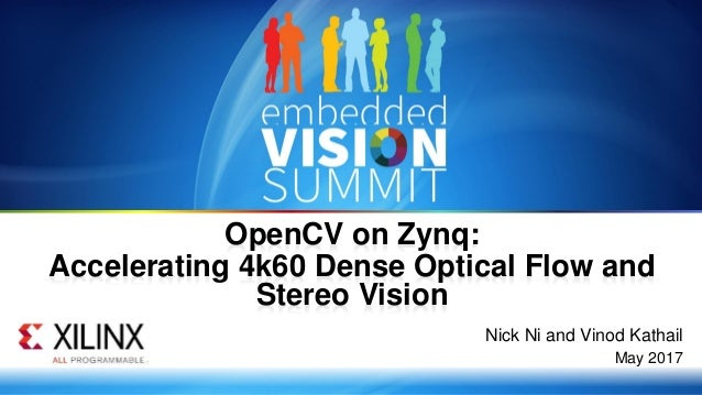 OpenCV on Zynq: Accelerating 4k60 Dense Optical Flow and