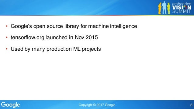 Implementing the TensorFlow Deep Learning Framework on Qualcomm's Lo…