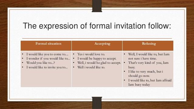 English teaching media 2 the expression of formal invitation stopboris Images