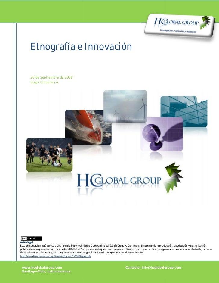 Etnografía e Innovación