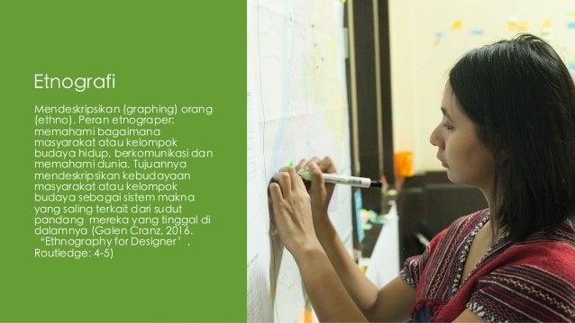 Etnografi dalam Proses Kreatif Slide 3