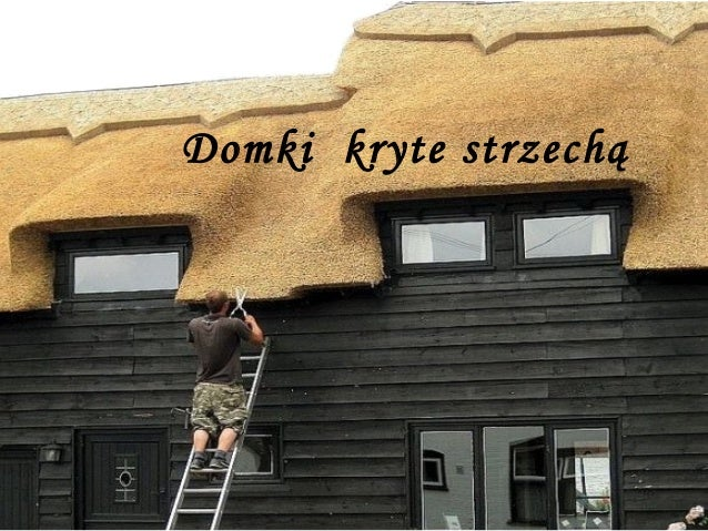 Domki kryte strzechą