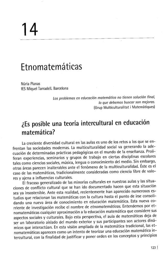 Etnomatematicas