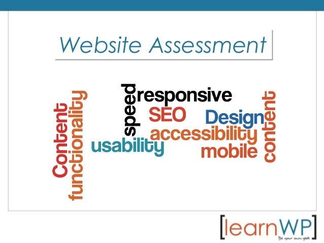 Website AssessmentWebsite Assessment