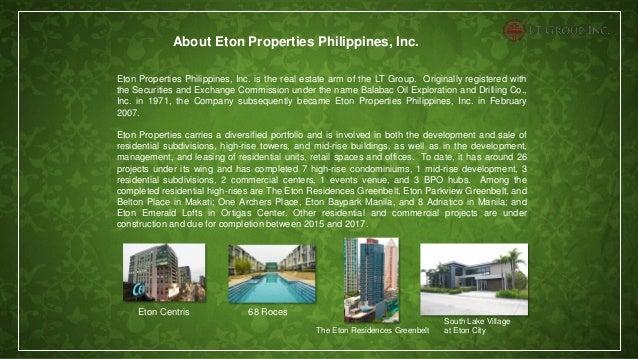Eton Tower Makati Condominium For Tripping Contact