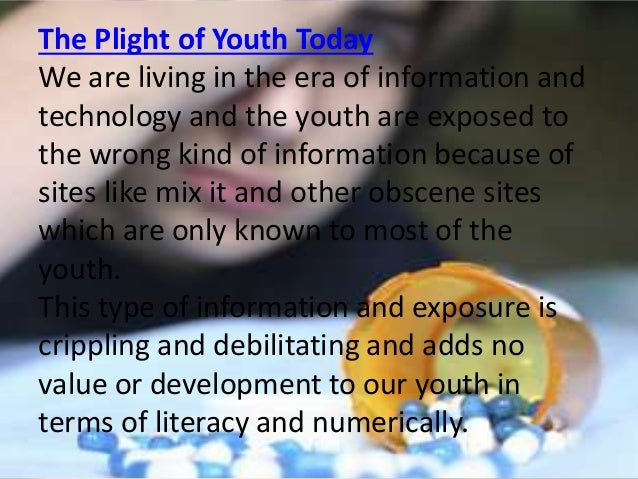 situation of filipino children in   16 the plight of youth today