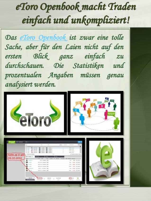Geld Verdienen Mit eToro Openbook  Ohne eToro Openbook Erfahrungen ist es unglaublich schwierig, wirklich Trader zu finden...