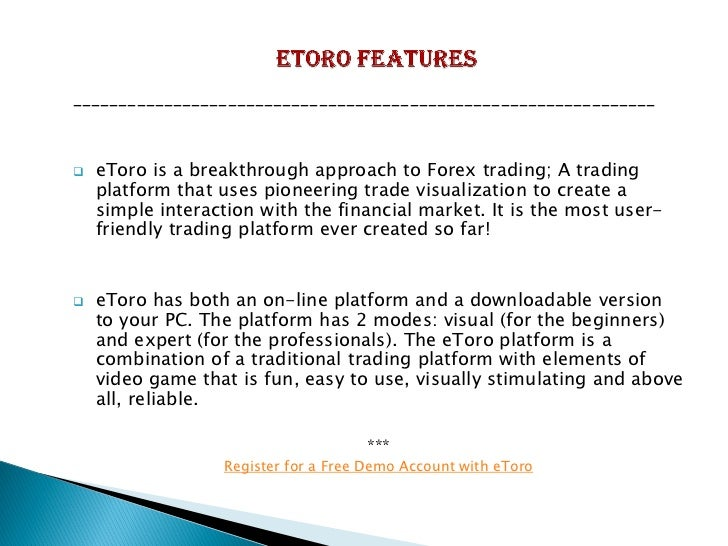 Etoro forex review