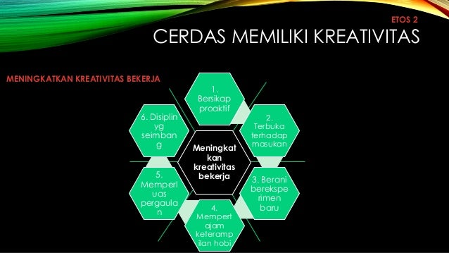 Etos kerja terbaik mulia 7 cerdas memiliki kreativitas etos 2 meningkatkan kreativitas bekerja ccuart Choice Image