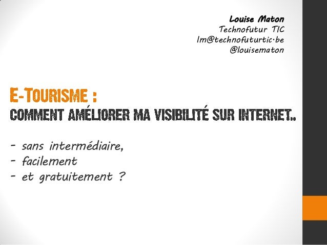 Louise Maton                            Technofutur TIC                        lm@technofuturtic.be                       ...