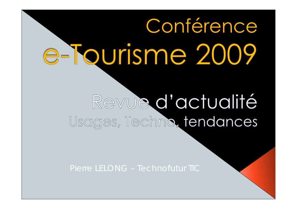 Pierre LELONG – Technofutur TIC