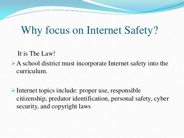 et 509 portfolio assignment internet safety ppt presentation for staf…, Powerpoint templates