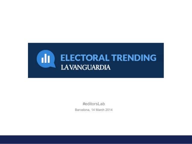 #editorsLab Barcelona, 14 March 2014