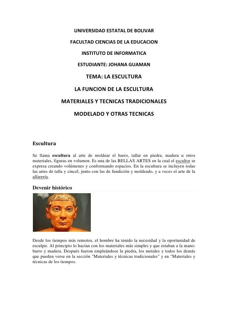 UNIVERSIDAD ESTATAL DE BOLIVAR<br />FACULTAD CIENCIAS DE LA EDUCACION<br />INSTITUTO DE INFORMATICA<br />ESTUDIANTE: JOHAN...