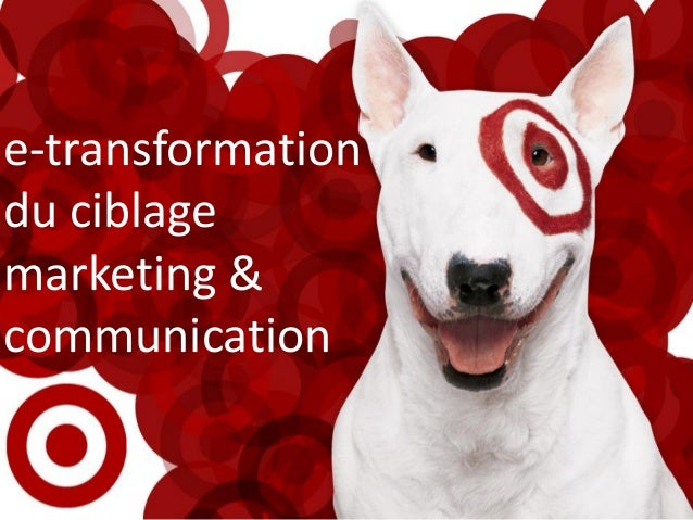 e-transformation du ciblage marketing & communication