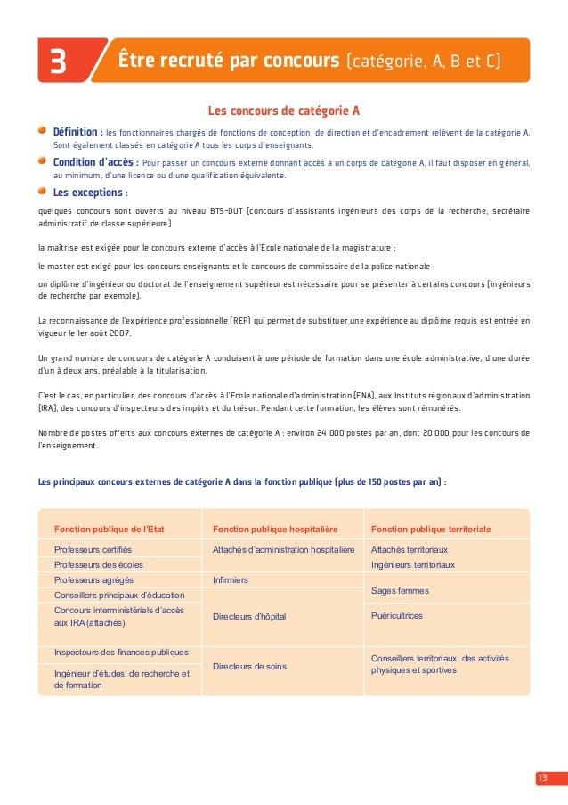Guide etre recrut dans la fonction publique dgafp 2014 - Grille indiciaire categorie b fonction publique territoriale 2014 ...
