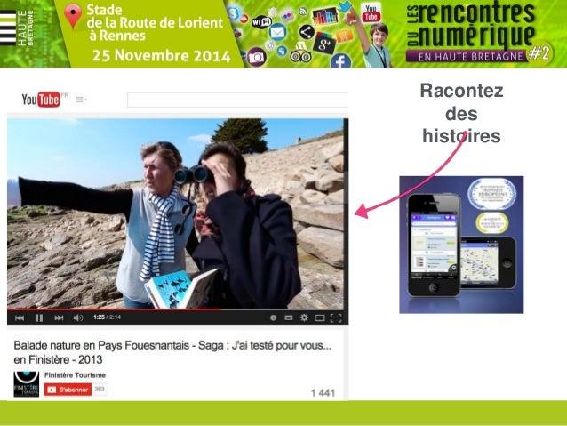 Rencontres du numérique #2 en Haute Bretagne - 25 Novembre 2013 Comité Départemental du Tourisme Haute Bretagne Ille-et-Vi...