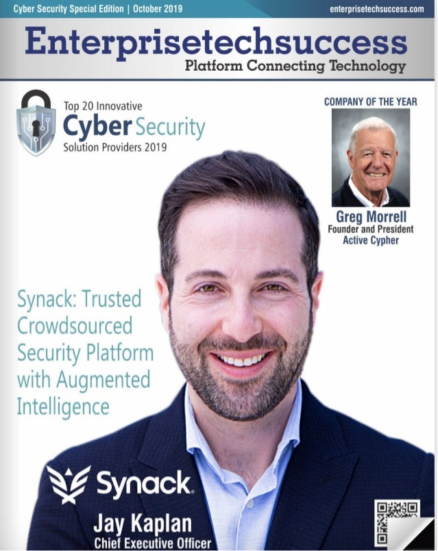 Top 20 Innovative Cybersecurity Solution Providers 2019