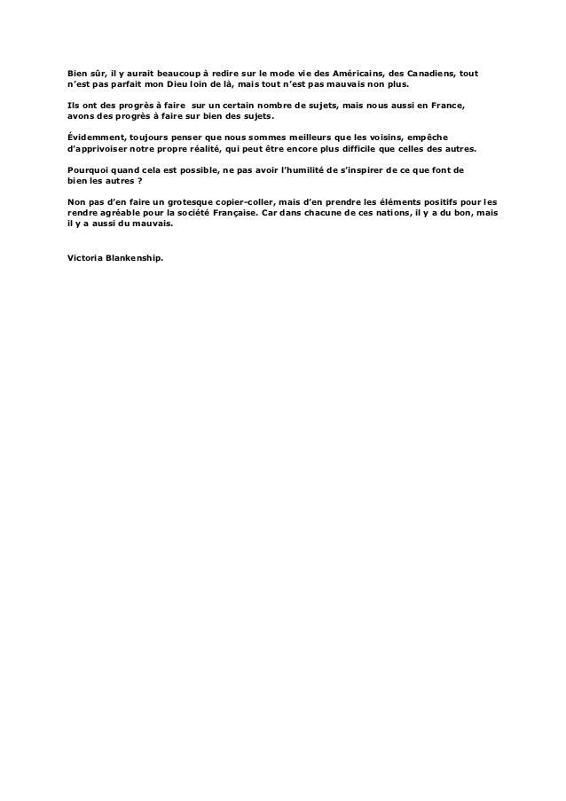 Les Français: Et le regard des autres...  Slide 3