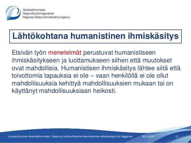 Humanistinen Ihmiskäsitys