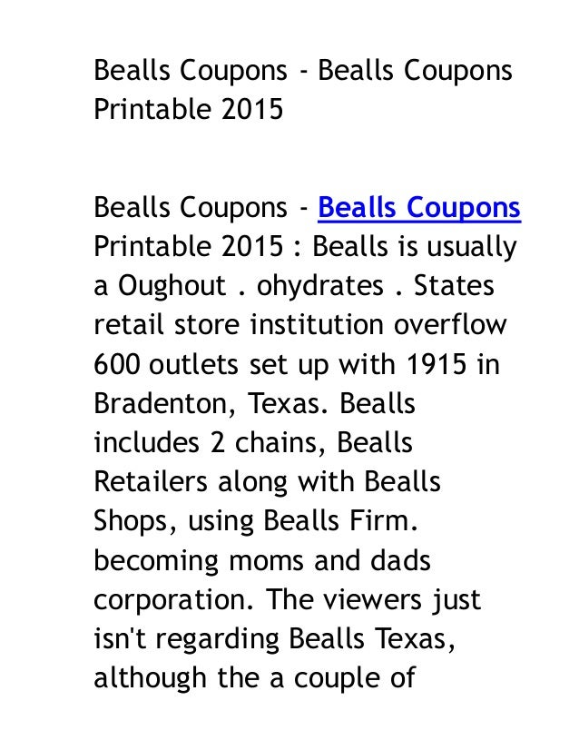 image relating to Bealls Printable Coupons identify Etsy coupon codes